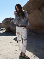 We The Free Destroyed Boyfriend Jeans by at Free People