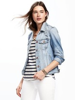 Old Navy Distressed Denim Jacket for Women