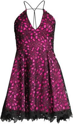 Milly Kira Lace Mini Dress