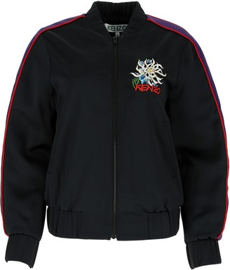 Kenzo Logo Embroidered Bomber Jacket