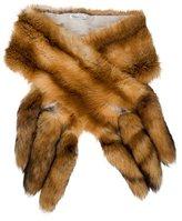 Oscar de la Renta Fox Fur Stole