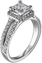 """Scott Kay Luminaire"""" Semi Mount Diamond Engagement Ring in Palladium (3/8 cttw)"""