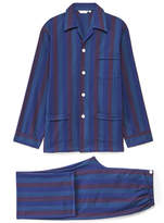 Derek Rose Arctic 13 Multi Striped Cotton Pyjama Set
