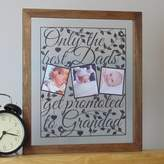 The Crafty Calf Personalised 'Best Dads' Papercut