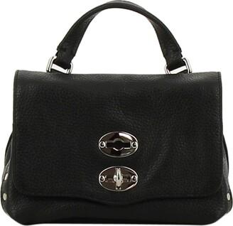 Zanellato Black Leather Shoulder Bag