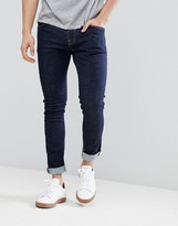 Nudie Jeans Tight Terry super skinny fit jeans in rinse blue
