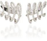 Hueb Wave Earring With Diamonds