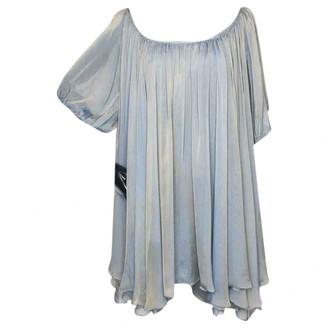 Thomas Wylde Grey Silk Top for Women