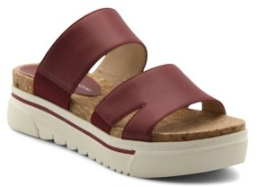 Adrienne Vittadini Women's Dean Two Band Sandals Women's Shoes