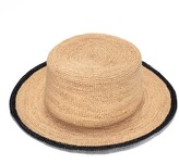 Justine Hats Boater Raffia Hat