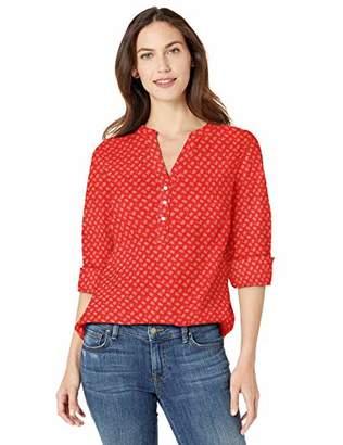Amazon Essentials Long-sleeve Cotton Popover Shirt Button,US (EU XS-S)