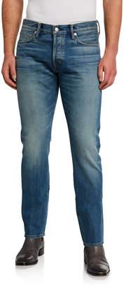 Tom Ford Men's Straight-Fit Denim Jeans