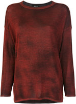 Avant Toi relaxed fit knitted top