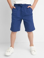 Gap Pull-on canvas shorts