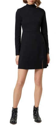 French Connection Lula Long Sleeve Knit Minidress