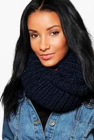 Boohoo Erin Chunky Knit Snood
