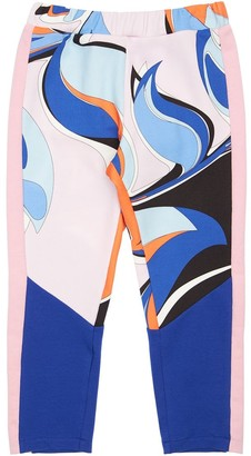 Emilio Pucci Heliconia Printed Cotton Sweatpants