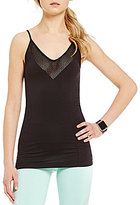 Nanette Lepore Play Active Core Skimming Seamless Tank