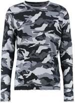 True Religion CAMO Long sleeved top black
