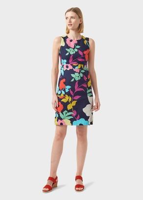 Hobbs Allison Cotton Blend Floral Shift Dress