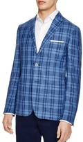 Corneliani Plaid Regular Fit Sport Coat