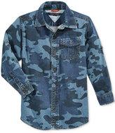 Tommy Hilfiger Little Boys' Camo-Print Shirt