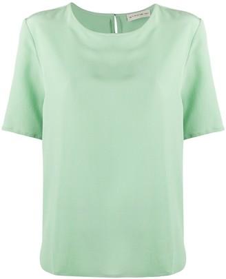 Etro silk round neck T-shirt
