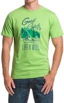 Life is Good CrusherTM T-Shirt - Short Sleeve (For Men)