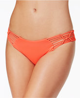 Becca Electric Current Macrame Hipster Bikini Bottoms Women's Swimsuit