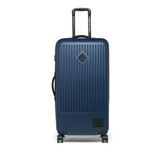 Herschel Four-Wheel Trade Large Hard Shell Luggage - Navy
