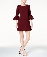 Betsy & Adam Petite Bell-Sleeve A-Line Dress
