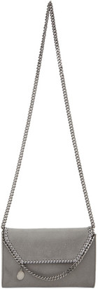 Stella McCartney Grey Mini Falabella Shoulder Bag