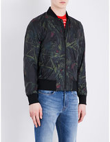 Ps By Paul Smith Jungle-print Shell Bomber Jacket