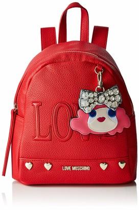 Love Moschino Women's Borsa Pebble Pu Shoulder Bag