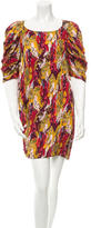Thakoon Abstract Print Mini Dress