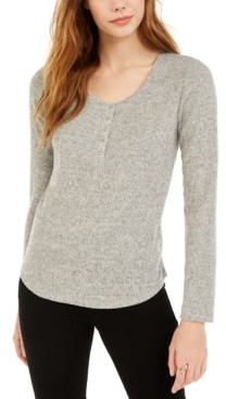 Hippie Rose Juniors' Henley Top