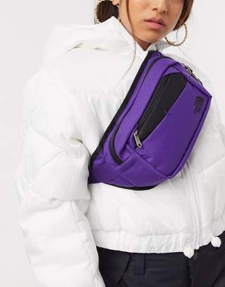 The North Face Bozer hip pack II Fanny Pack in purple/black