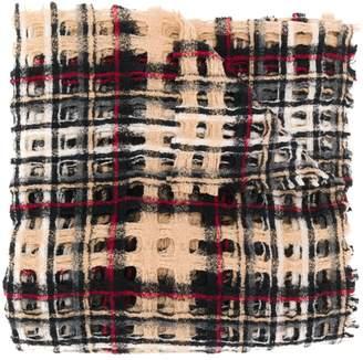 Faliero Sarti plaid scarf
