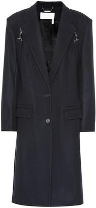 Chloé Stretch wool-blend coat