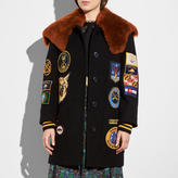 Coach Military Patch Worker Jacket