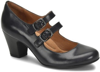 Sofft Double Strap Leather Mary Janes - Maliyah