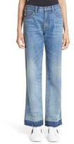 Marc Jacobs Women's Relaxed Release Hem Jeans