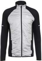 Odlo HYBRID SEAMLESS IRBIS Sports jacket black concrete grey