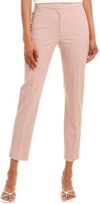 Oscar de la Renta Wool-Blend Dress Pant