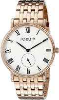 Johan Eric Men's JE-H1000-09-001B Holstebro Analog Display Quartz Gold Watch
