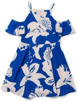 Bardot Junior Drape Printed Dress