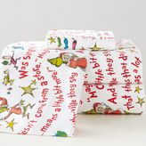 Grinch & Words Of Who-Ville Flannel Sheet Set, XL Twin, Multi