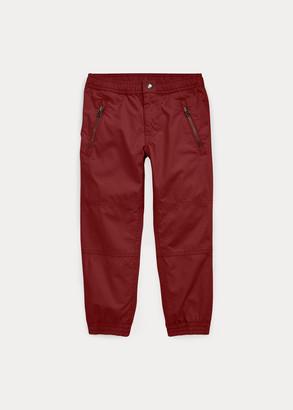 Ralph Lauren Cotton Poplin Jogger Pant