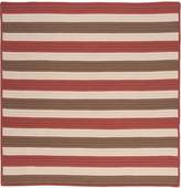 Colonial Mills TR99R144X144S Stripe It All-Weather Indoor/Outdoor Rug