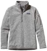 Patagonia Women's Better Sweater 1/4 Zip Birch White